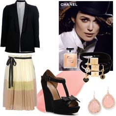 Perfectly Knightley, created by patricia-teixeira on Polyvore