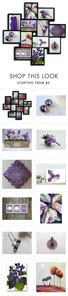 """Purple Haze"" by inspiredbyten ❤ liked on Polyvore featuring Adeco"