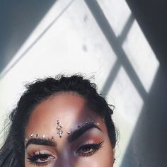 "yasminechanel: ""I've always had an obsession with eyes  messing around with jewels  """