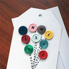 A cheerful and easy handmade card that requires few supplies and a little love.