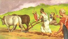 Agriculture was done by mostly slaves. They and to work in harsh conditions and almost everything was done by hand.