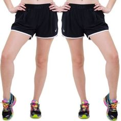 Nike Dri Fit Icon Running Shorts Black/White Nike Dri-Fit running shorts in all black with white trim. No lining inside makes the short a looser, slightly less constricting style than the typical Nike tempo short. Worn a few times but in great condition. Nike Shorts