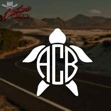This Monogram Decal Is Versatile For Car Windows Laptops Tablets - Monogrammed custom vinyl decals for car