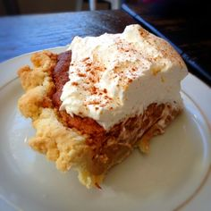 Pumpkin Pie @ The Humble Pie