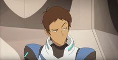 Lance getting annoyed by Keith who doesn't know how to do the Voltron Team cheer from Voltron Legendary Defender