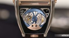 MB&F Hm8 Can-Am - Rose Gold - Movement
