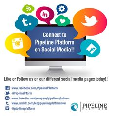 You can reach Pipeline Platform team on social media! Check us out on Facebook, Instagram, Twitter and other sites!!