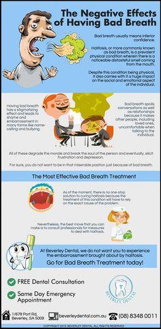 The Negative Effects of Having Bad Breath beverleydental.com.au