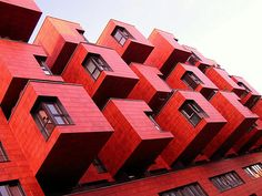 #red #building #architecture