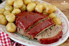 pressure cooker meatloaf with ketchup glaze