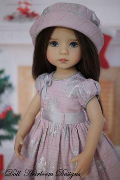 "Dress Ensemble Effner 13"" Little Darling by Doll Heirloom Designs #DollHeirloomDesigns"