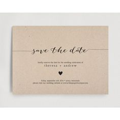 Save the Date Invitation, Wedding Rehearsal Editable Template Rustic... ($8.29) ❤ liked on Polyvore featuring home, home decor, rustic home decor, rustic wedding invitations and rustic home accessories