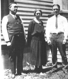My dad, Arthur Ripslinger, and my grandparents, Frank and Abby Ripslinger, 1923