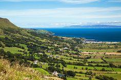 The Glens of Antrim, Northern Ireland.