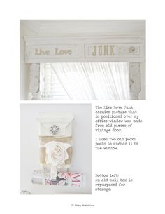 ISSUU - Simply shabbilicious magazine a creative life by Shabby Art Boutique by Woodberry Designs. Junk Chic Cottage