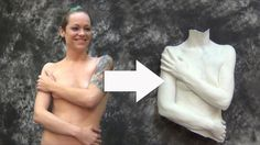 In this tutorial we show how to make a torso mold using PlatSil Gel-25 silicone thickened with TinThix thickener. A plaster bandage support shell was then ma...