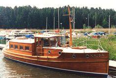Wooden boat, Sweden