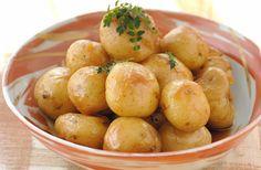 Молодой картофель в масле | Кулинарный Рай