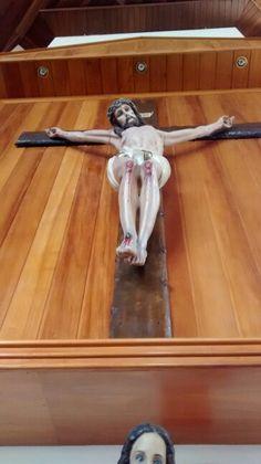 Cristo Crucificado/ Paróquia N. S. De Fátima/ Vl. Leopoldina  São Paulo - BR