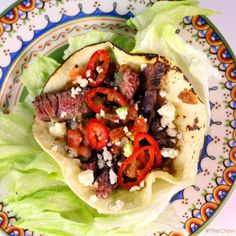 Skirt Steak Tacos by Mario Batali! #TheChew #CinoDeMayo