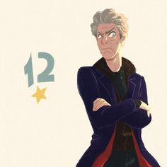 First prize for antennapedia, the Twelfth Doctor. New Doctor Who, Doctor Who Fan Art, Twelfth Doctor, Doctor Who Quotes, Eleventh Doctor, General Doctor, Doctor Drawing, David Tennant Doctor Who, John Barrowman