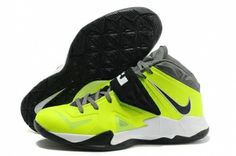 8118966c8bb Nike Lebron Soldier VII Fluorescent Green Black Shoes Adidas Nmd