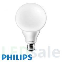 9.5W PHILIPS E27 LED Globe - Lämmin Valkoinen