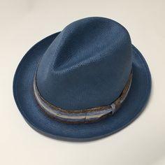 Cappello in paglia naturale con nastro in lino#cappellitroncarelli.it