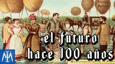 Cómo imaginaban el futuro las personas de antes - YouTube Imagines, Baseball Cards, Sports, Movies, Movie Posters, Future, Teaching History, 19th Century, Literatura