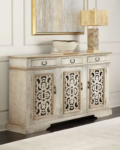 Shop Corinna Narrow Console at Horchow, where you'll find new lower shipping on hundreds of home furnishings and gifts. Console Furniture, Painted Furniture, Living Room Furniture, Home Furniture, Small Living Room Design, Dining Room Design, Foyer Decorating, Decorating Blogs, Country Furniture