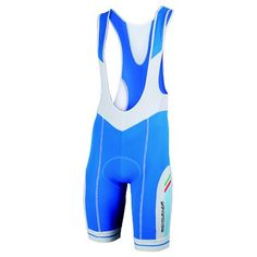 Cycling road bibshorts AZZURRA in blue, by Bicycle Line Italy (inspired by Italian National cycling team)