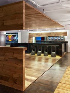 Red Bull Toronto's Custom and Inspirational Offices