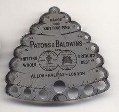 1000+ images about Vintage Knitting gauges on Pinterest Vintage knitting, G...