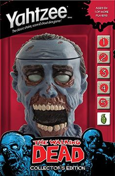 YAHTZEE: The Walking Dead Collector's Edition | Geek Armory