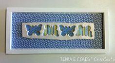 Recortes de Borboletas (cris couto 73) Tags: ceramica branco ceramic clay terracota uberaba quadrinho molduras terraecores criscouto