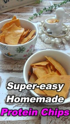 SUPER-EASY HOMEMADE PROTEIN CHIPS – Keto, Low Carb, Gluten Free Yes, they are super-easy but absolutely delicious! I just can't stop eating them and always regret why I didn̵…