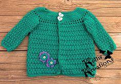 Ravelry: Criss Cross Applesauce Girls Sweater pattern by Gramma Beans