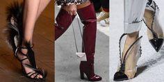 Fall 2018 Shoe Trends - Shoe Runway Trends Fall 2018