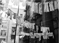 Monday, Laundry Day, New York City
