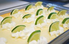 Key Lime Cheesecake Bars...this says summertime :)
