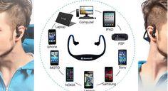 Bluetooth Wireless Handsfree Stereo Earphones