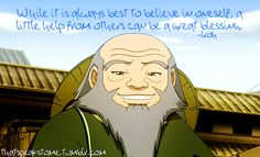 Seriously, of all TV shows I've ever watched, Iroh is my favorite character.