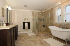 clawfoot bathroom idea | ... Photos of the Stunning Claw Foot Tub Bathroom to Redecorate Your Home