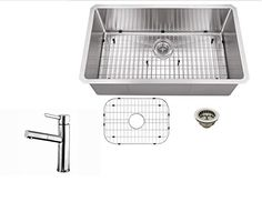 Small Kitchen Sink, Small Sink, Kitchen Sinks, Stainless Steel Faucets, Gauges, Packaging, Amazon, Amazons, Riding Habit