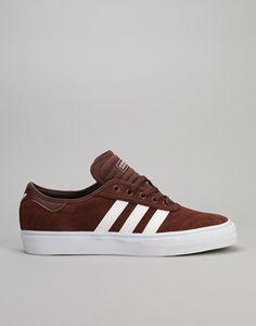 Adidas Adi-Ease Premiere ADV Skate Shoes - Auburn/White/Ice Blue