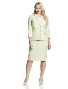 Le Suit Women's Plus-Size Tweed Jacket with Skirt and Scarf Suit Set, Pale Crabapple, 24 Le Suit http://www.amazon.com/dp/B00I6A6BPY/ref=cm_sw_r_pi_dp_mnA8vb1VB69SF
