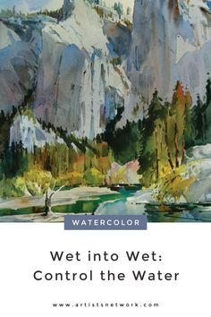 Painting wet into wet and color charging are basic watercolor techniques, but they're also difficult to master. We have some great tips to help you control the flow!