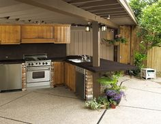 Dekton Worktops Outdoor cooking never looked better! Dekton is the perfect material to help create your backyard oasis!