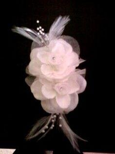 DYI hair flower