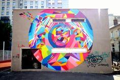 Kenor Martinez Vanbergen - street art - paris 20, rue des cendriers (juin 2013)
